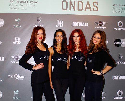 theqhair premios ondas gala after ondas